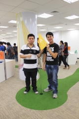 Mini-golf in the office